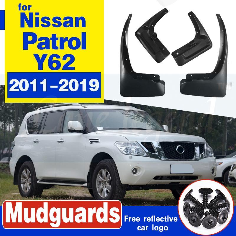 Schmutzfänger für Nissan Patrol Y62 2011 ~ 2019 Fender Mud Schutzklappe Splash Flaps Radschützer Zubehör 2012 2013 2014 2015 2016 2017