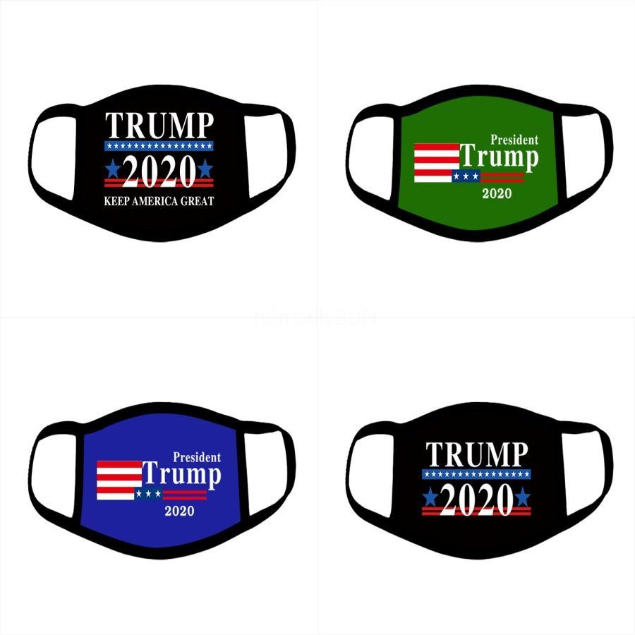 Máscaras de la bandera americana Trump fisuras pantalla facial Protección UV para el ciclismo equitación Las vendas # 967