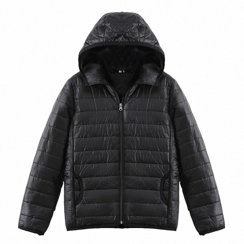 Осень и зима моды новые чистые цвета случайных мужчин и женщин с капюшоном пуховик пальто doudoune фам пчеловод Ропа Mujer: aqJD #