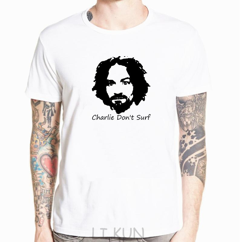 Charlie Do not Surf Axl Rose 90s vintage T-shirt uomini e le donne T grande formato XS-5XL Hip Hop Stampa breve O-collo