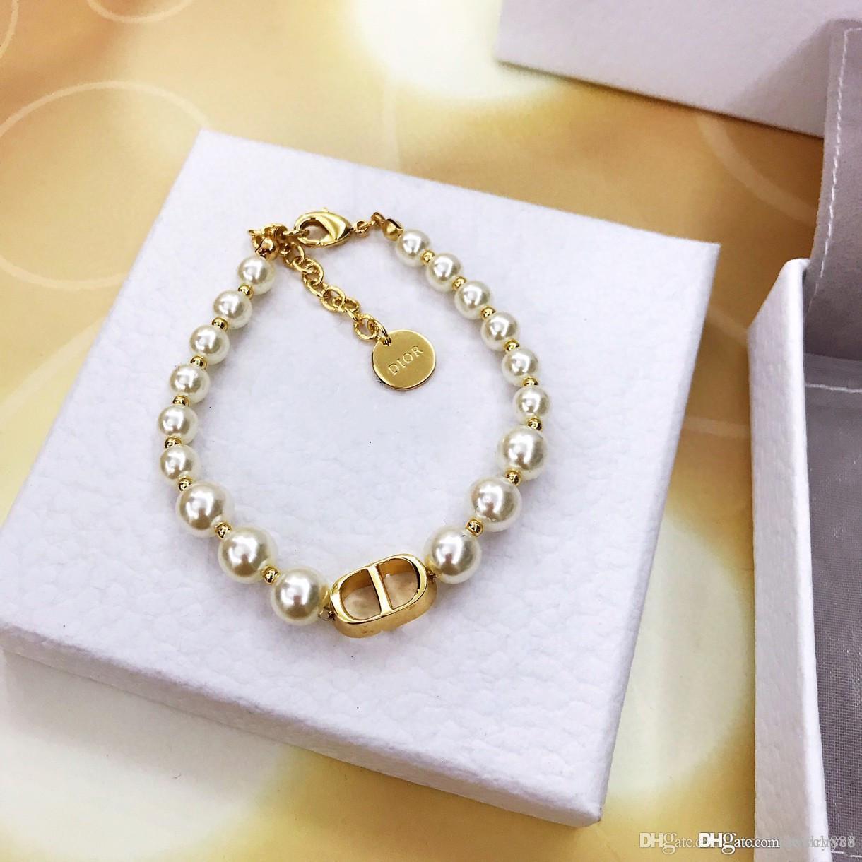 L'Europe et les États-Unis 2020 printemps et ventes mode d'été chaud nouveau laiton sur mesure de luxe bracelet alphabet plaqué or épais élégant pe