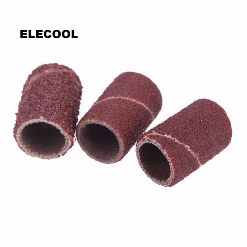 taladro de carburo de silicio ELECOOL Nueva Brown nativo bits de carburo de silicio de carburo de silicio nativo Pulido reemplazo cabeza amoladora