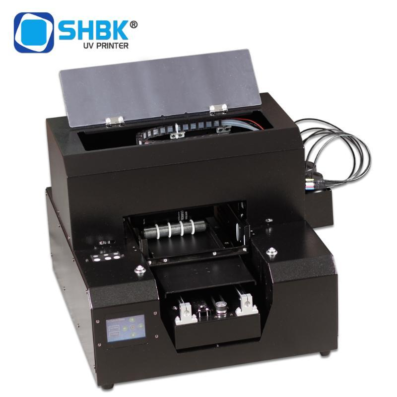 SHBK. Newest 2020 Multifuntion DTG Printer Automatic Smart Hot Sale A4 UV Printer For Metal Plastic Wooden With Quick Dry Ink