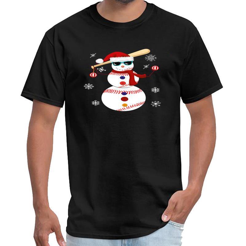 Отпечатано Рождество Baseball Снеговик Сант Hat подарки тенниска 3d мужчины офис тв шоу XXXL 4XL 5XL модель
