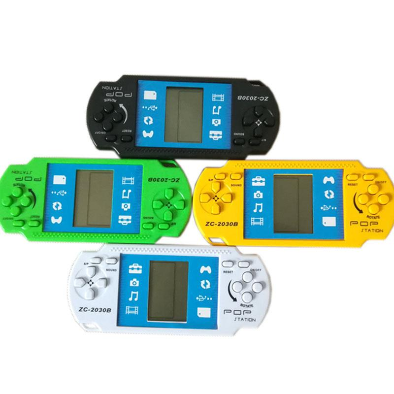 Children Classical Tetris Game Console For PSP Gaming Players Retro Portable Tetris Handheld kids Gaming Controller Brick Game For PSP DHL