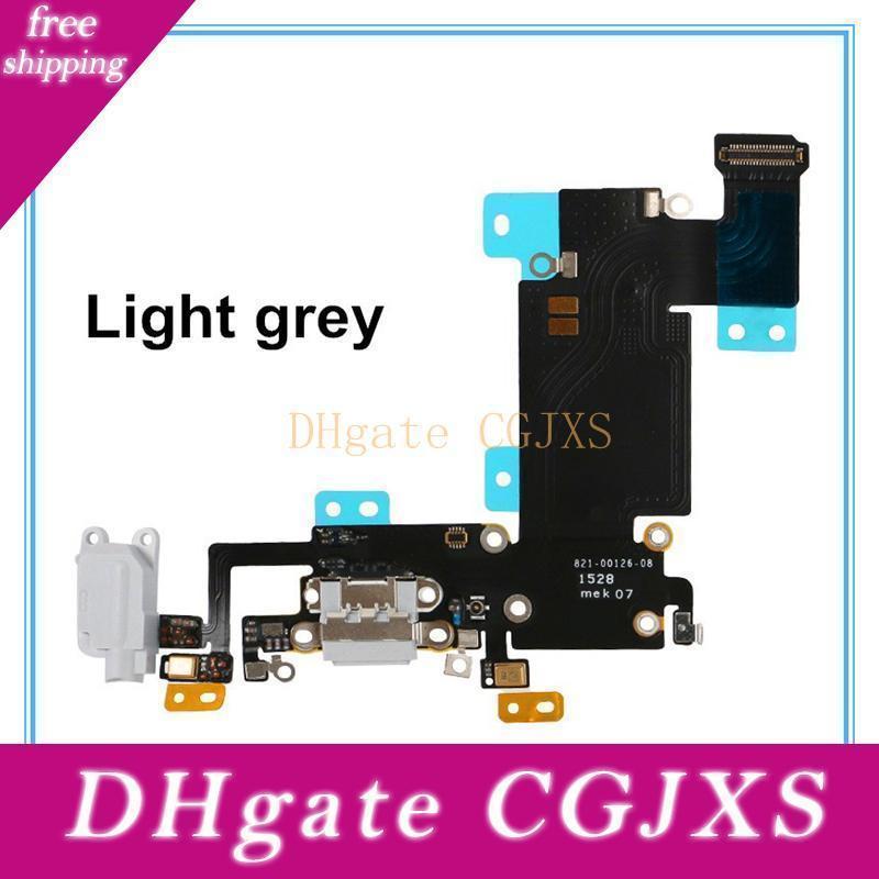Ladeanschluss Flexkabel-Band für das iPhone 6 6s 6 Plus 6s sowie USB-Dock Connector Ladegerät Port-Flexband-Wiedereinbau-freies Verschiffen