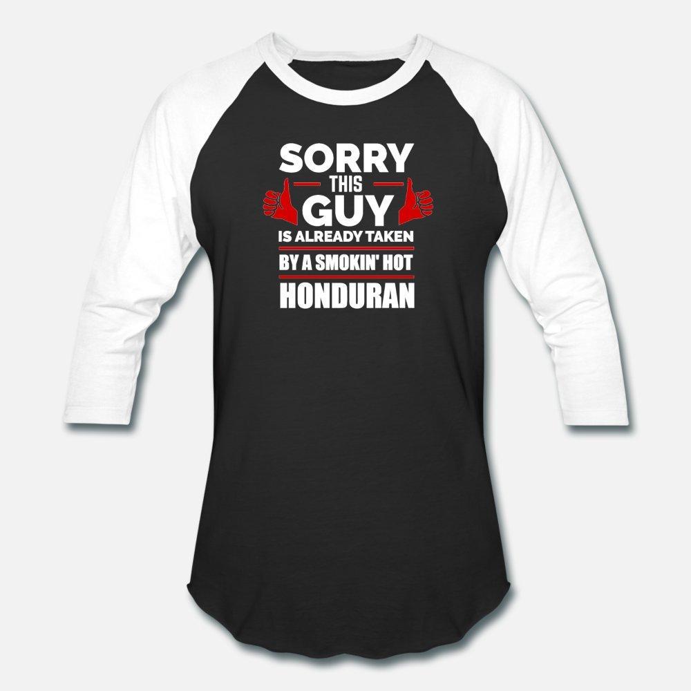 Leider Guy Bereits Taken By heißen honduranischen Honduras T-Shirt Männer entwirft 100% Baumwolle S-XXXL Natur Fit Lustig Sommer Freizeithemd