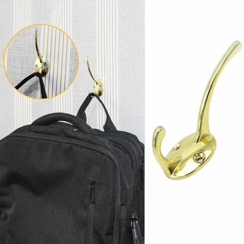 Zink-Legierung Lagerung Haken Wandhalter für Badezimmer Küche Mantel Hut Halter 0KBM #