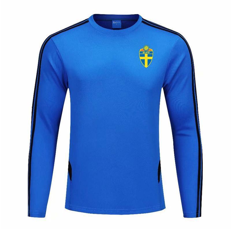 Suecia sin capucha camiseta de la moda casual pantalón de deporte Fútbol Running otoño e invierno de poliéster Deportes