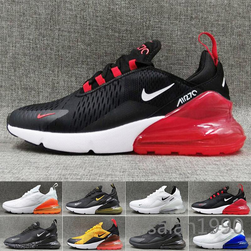nike air max 270 270s 27c airmax  2018 New Running Shoes Men Women High Quality Sneakers Cheap Black white red blue grenn Chaussure Homme Sports Shoes Size BV2YU