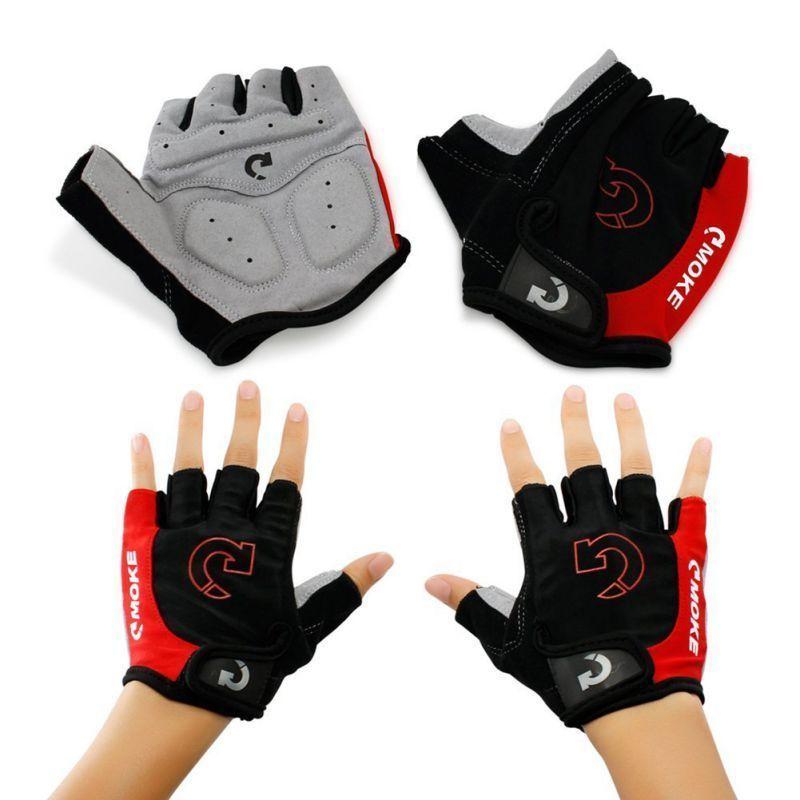 3 Colors Outdoor Cycling Half Finger Glove Men Women Sports Anti Slip Gel Pad Motorcycle Bicycle Road MTB Bikes Gloves
