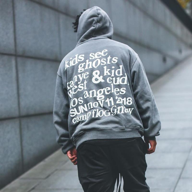 20FW CPFM KIDS는 유령 후드 하이 스트리트 스케이트 보드 후드 운동복 봄 가을 긴 소매 풀오버 스웨터 HFYMWY533 참조