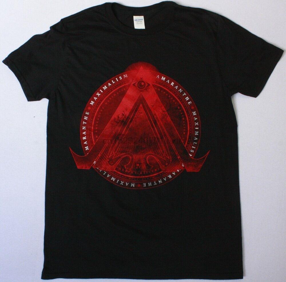 Amaranthe shirt Massimalismo Black T Heavy Power Metal Dance Rock