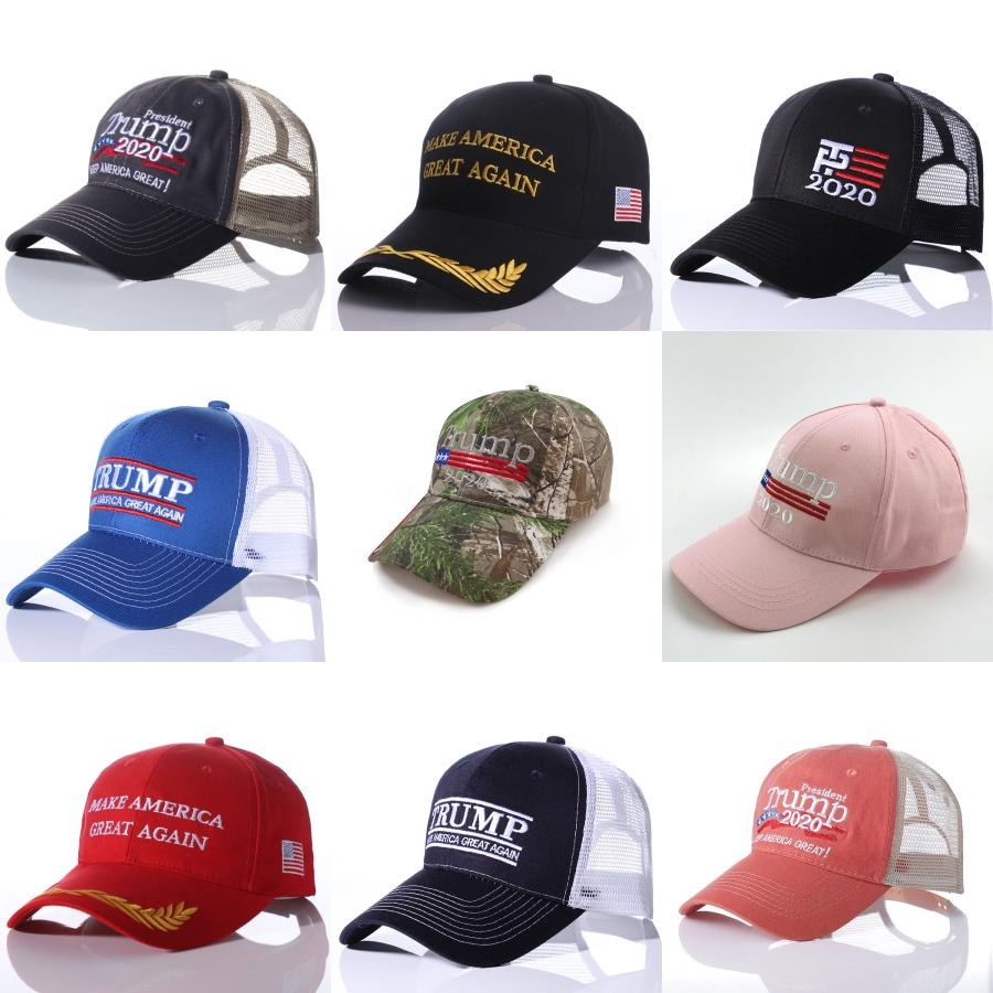 High Quality Trump Baseball Caps Make American Great Again Hat With Usa Flag Sports Cap For Men And Women 1Pc#846