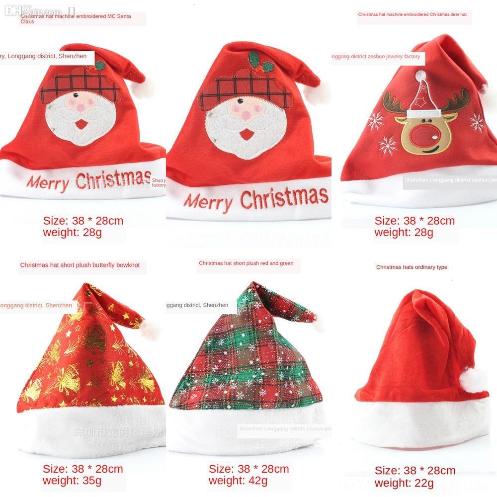 7tAwC R Hats Santa Claus Glow Fashion Colorful Flash Cap And Male Female Club snowflake Hip Dance Party Hop Cap Christmas GiftZj Jazz