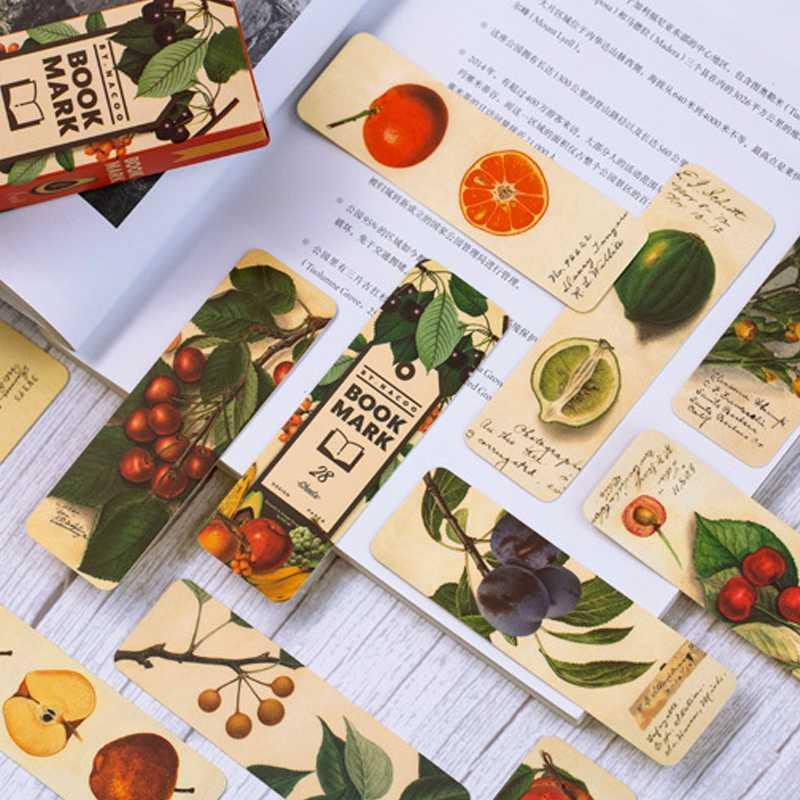 10packs Vintage Tag planète Rétro plante Bookmark Vintage Style Europe Papier Kraft livre marque pour les enfants Matériel scolaire