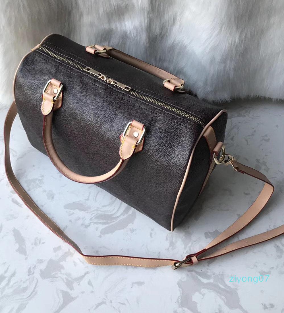35cm bolsos de la moda monederos clásico de las mujeres bolsa de mensajero bolsas de hombro Señora Totes bolsos con correa para el hombro polvo Bagz07