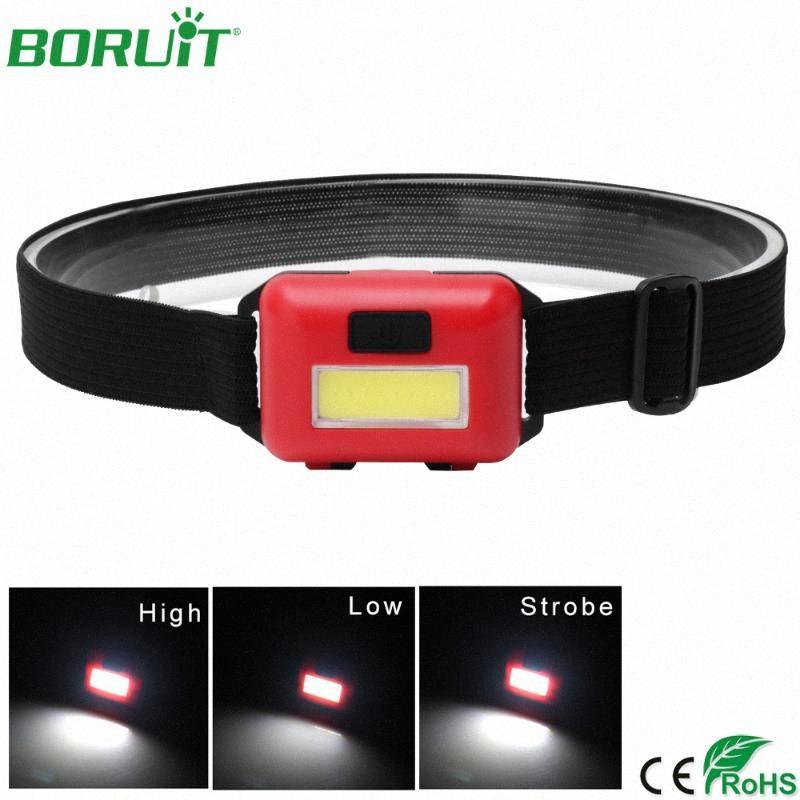 BORUiT impermeabile mini proiettori a LED 3 Modalità Lanterna portatile per il campeggio esterno di pesca di caccia corpo torcia Luce 7LlV #