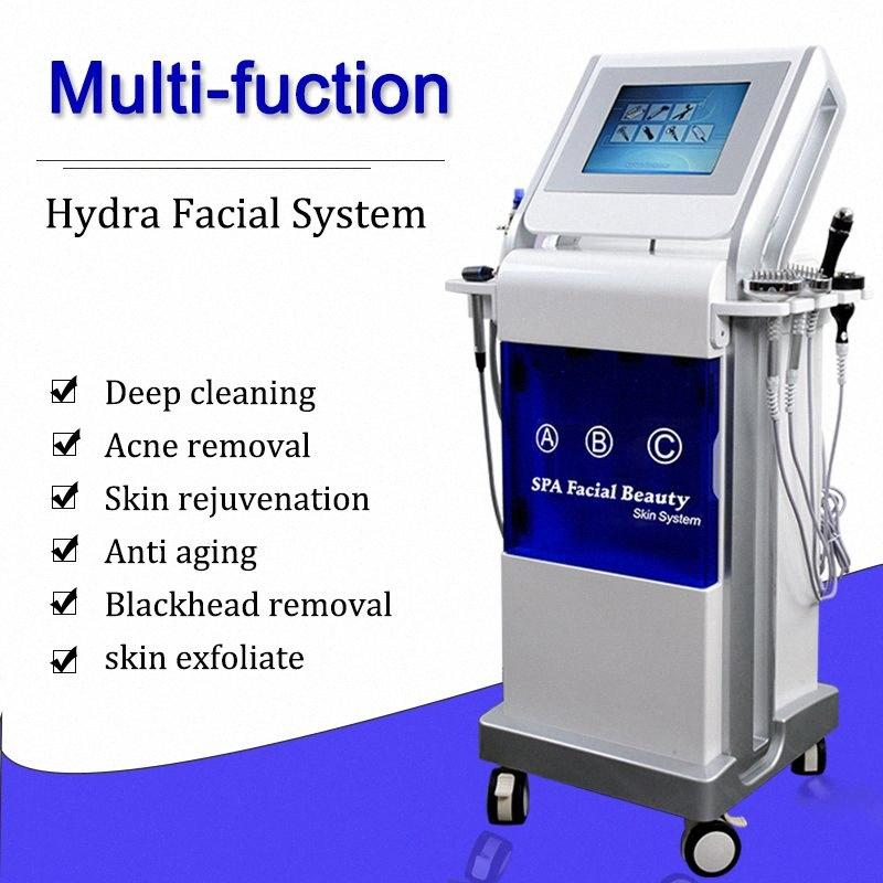 9 IN 1 Hydro Microdermabrasion Microdermabrasion Spa Facial Machine Ultrasonic Skin Scrubber For Deep Cleaning Face Lifting 7i46#