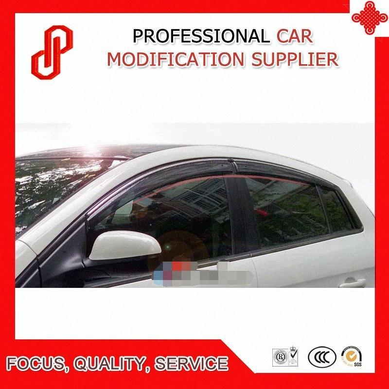 Injection-Qualitäts-Formenordnungs-Lüftungs Schatten regen Sonne Windabweiser Fenstermaske für Bravo 2008 2009 2010 2011 ln88 #