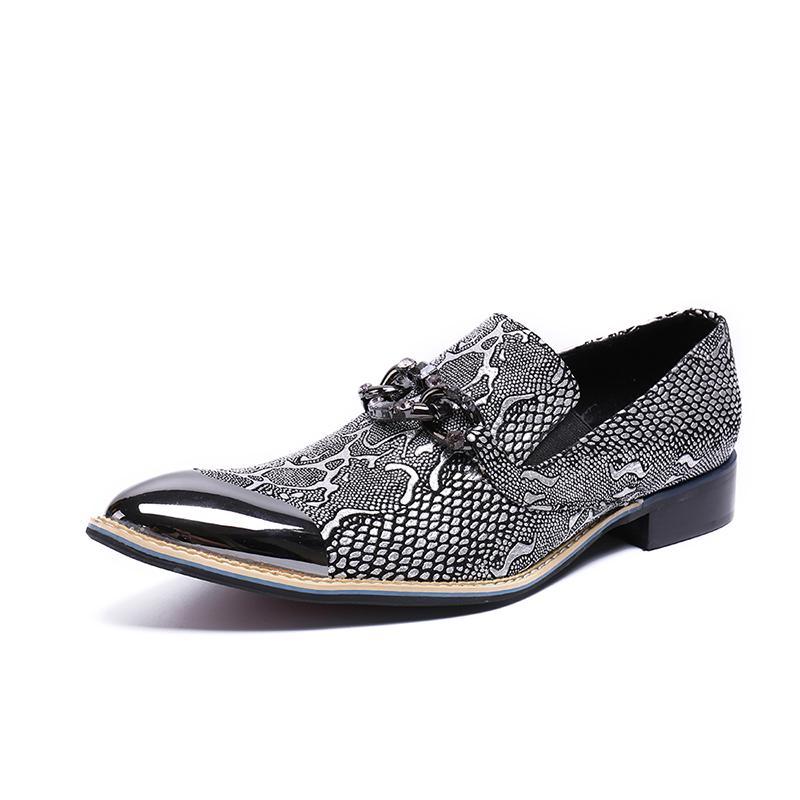 Lüks Tasarım Erkekler Oxford Ayakkabı Sivri Burun Ofis Ayakkabı Rugan İş Elbise Erkek Flats Boyutu 37-48 yazdır