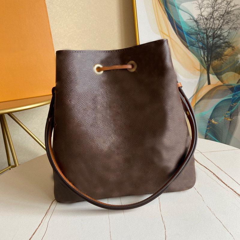 디자이너 핸드백 최고 품질의 여성 가방 네오노 토트 백 Drawstring 양동이 여성의 어깨 가방 패션 쇼핑 가방 무료 배송