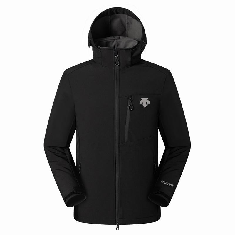 2019 Nuovo Il Mens DESCENTE Giacche Felpe Moda caldo casuale antivento sci Viso Cappotti All'aperto Denali Fleece Giacche 012