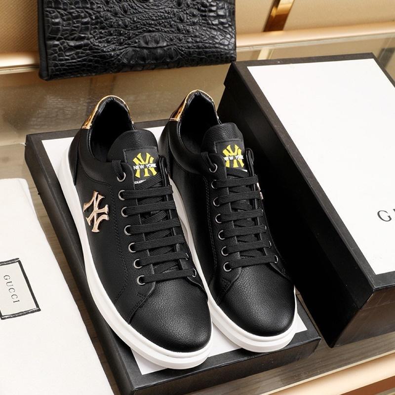 2020 N4 Moda Trend Erkek Tasarımcısı Ayakkabı Yüksek Kalite Deri Nefes Lüks Ayakkabı Dantel-up Casual Yürüyüşçülerden Ayakkabı Erkek Sneakers