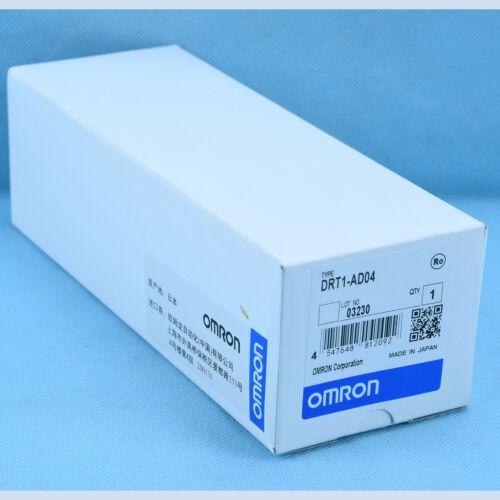 NEW IN BOX 1PC OMRON PLC DRT1-AD04 DRT1AD04 One year warranty