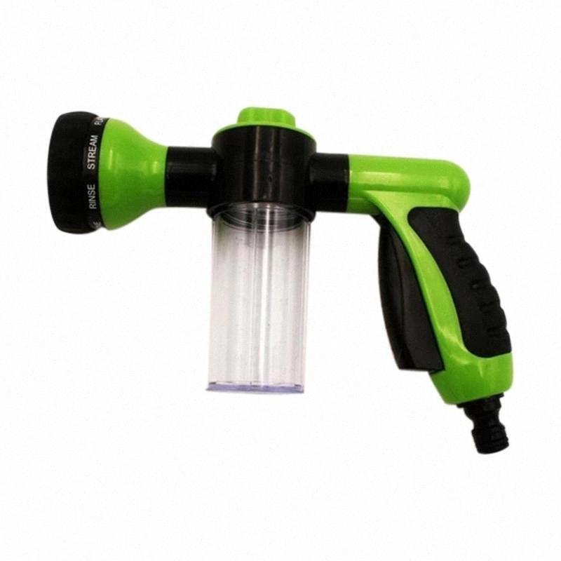 Multi-Function Water Gun Car Wash Water Gun alta pressione Car Wash Doccia Giardino Otto-In-One Foam Pot blMi #