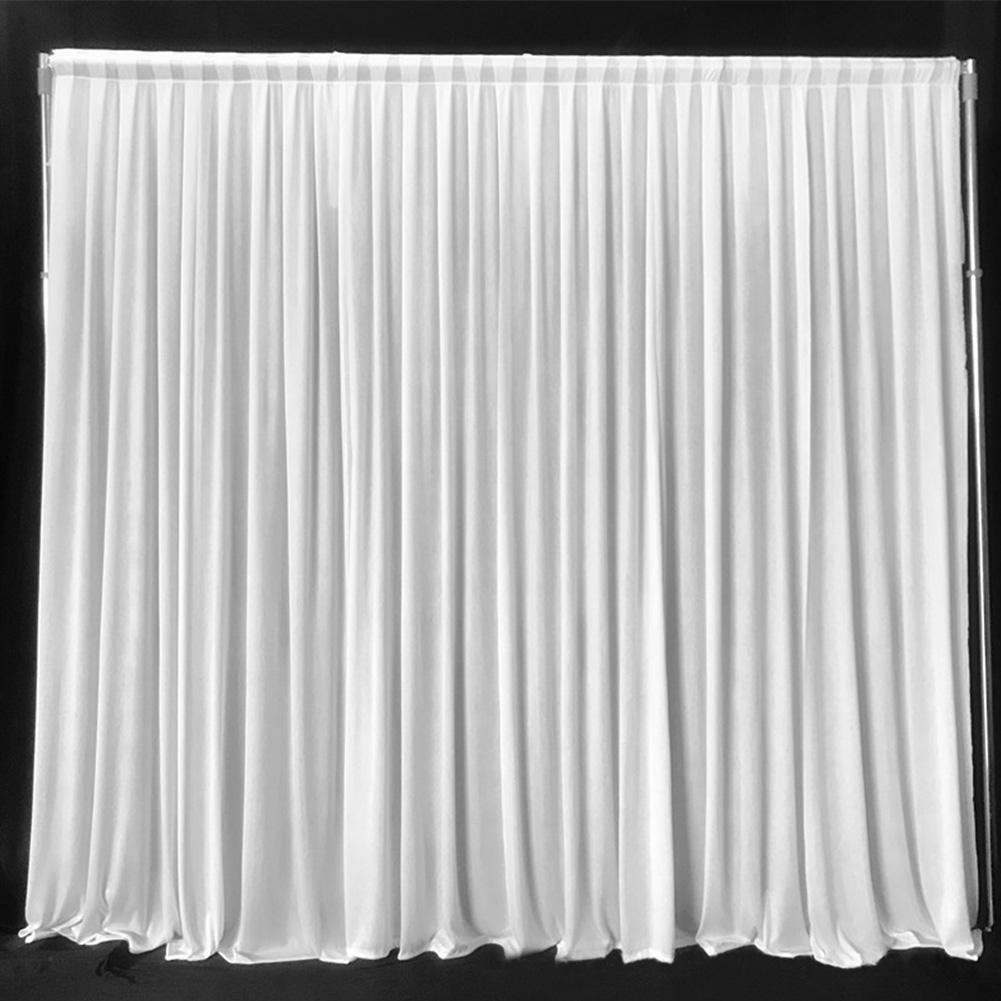 Colgantes DIY hogar de la cortina de tela Evento Telón de fondo boda de la foto del panel drapeado Prop