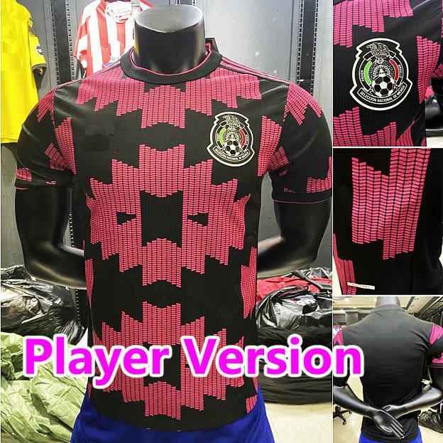 OYUNCU VERSİYONU 20 21 Meksika Futbol formaları uzakta H.LOZANO DOS SANTOS Chicharito 2020 2021 milli takım futbol forması erkekler çocuklar set gömlek