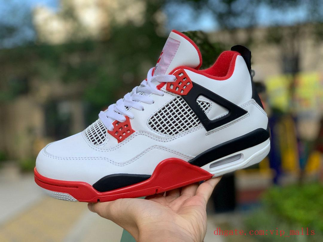4s 4 Basket Uomo 2020 scarpe Bred Jumpman Black Cat Mens cemento bianco Encore Ali Single Fire Red Sneakers IV Formatori denaro Pure