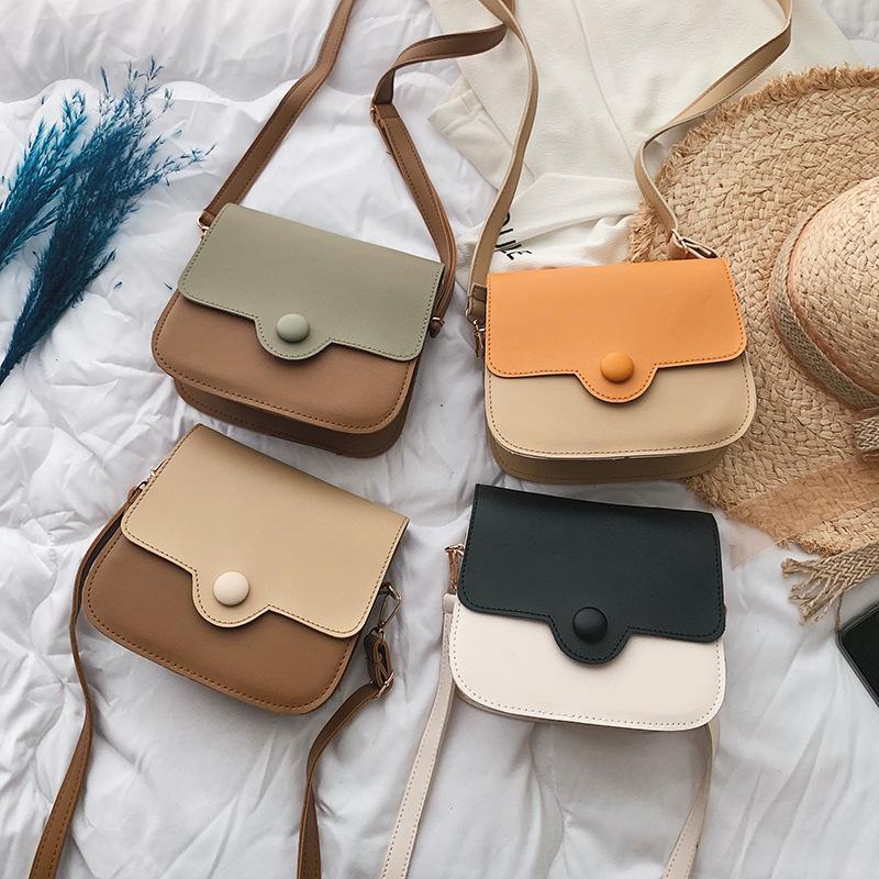 Sac Messenger Messenger pour Patchwork d'été # 25 Sacs Sacs Crossbody 2020 Designer pour sac à bandoulière en cuir Femmes Mode DGOLC
