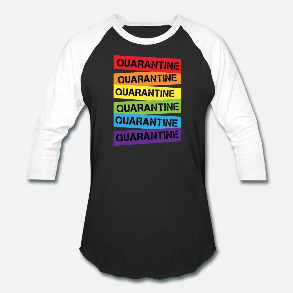 Quarantaine Lgbt t shirt homme taille en tricot à manches courtes S-3XL homme Intéressant été Comical shirt Vintage