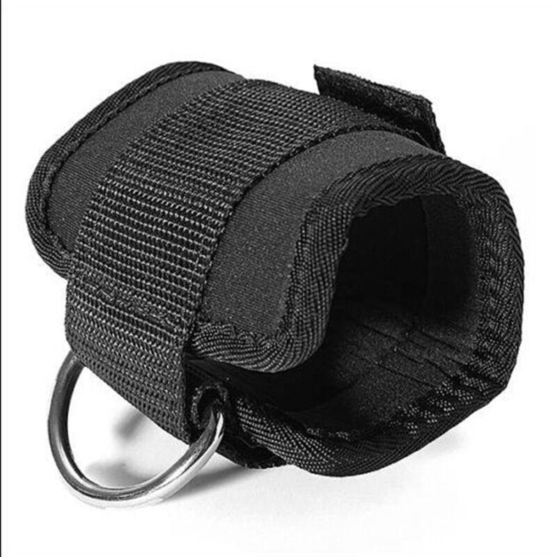 1Pcs На складе лодыжки ремень D-кольцо лодыжки ремень Gym кабель машины Attachment Бедро Нога Шкив Вес Подъемное