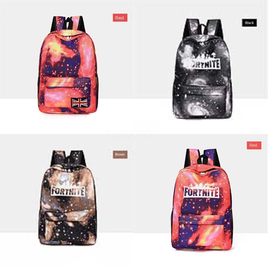 Google Fortnite Starry Sky Fortress Ночь Рюкзак Dont Be Зло рюкзак лубок Schoolbag Компания Досуг рюкзак Спортивная школа сумки # 941
