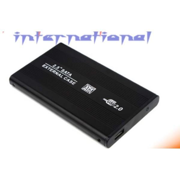 "durch DHL oder EMS 50pcs 2.5"" USB 2.0 SATA HD-Box HDD Festplatte Externe Gehäuse Fall für Windows XP / Vista / Win7 / Win8 / Win10 / Mac"