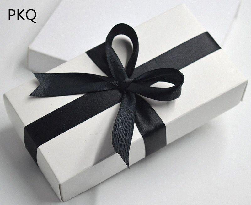 10pcs Kraft Papier Kartons großen Geschenkkarton schwarz weiß Geschenk-Box Deckel Kartonpapier große Verpackungen Boxen kosmetische Verpackung rZuL #