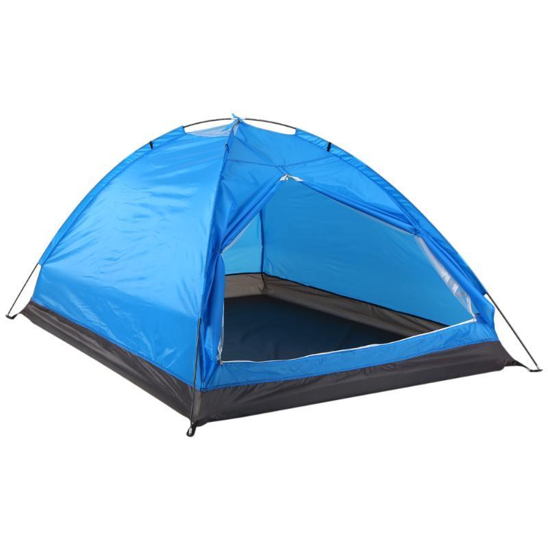 Tiendas y refugios Tomshoo 2 Personas Al aire libre Impermeable Camping Senderismo Tienda Tela de poliéster Una sola capa para viajar