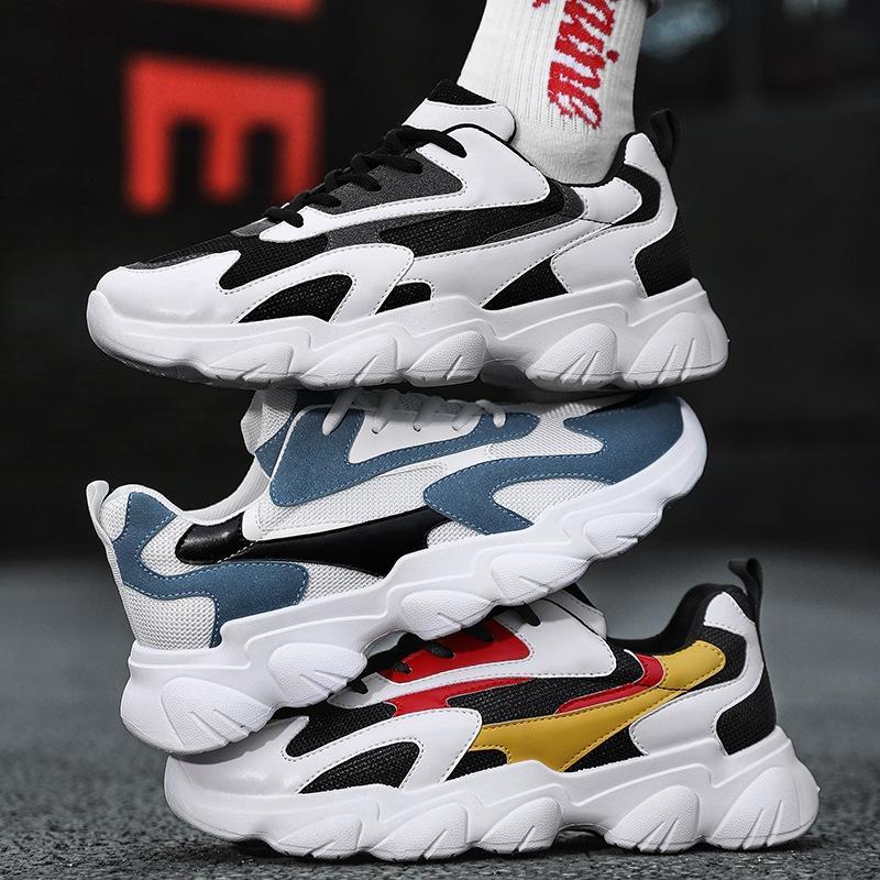 2020 Four Seasons coreano ulzzang Harajuku padre maglia sport respirabili scarpe casual scarpe dei nuovi uomini 9daL6 trendy