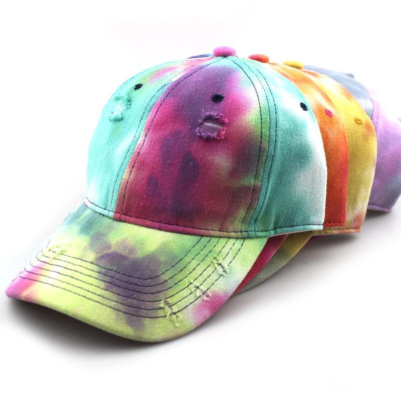 Красочный Street Baseball Cap Hat Old Fashion Шаровые Кепки Мужчина Женщина Регулируемое Hat Шапочки Верхнее качество