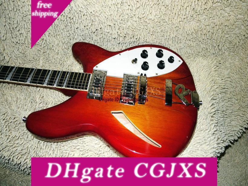 Gitarre Fabrik-neueste 6 Strings 325 330 Kirsch E-Gitarre von China Freies Verschiffen
