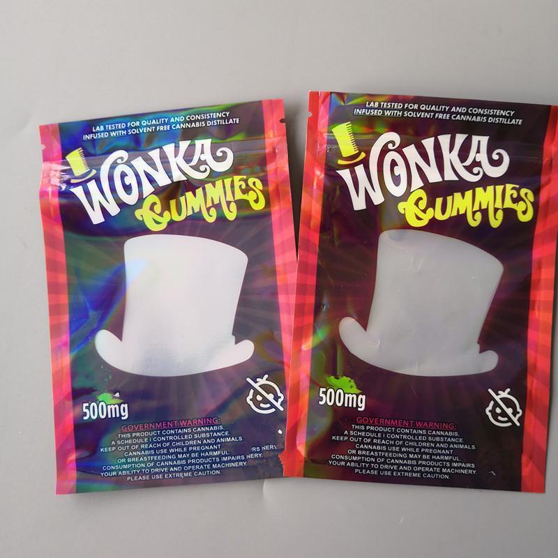 Bolsas de embalaje Gummies gomosos cuerda Vaciar Wanka bolsa de 500 mg empollones caramelo Dank mywjqq yKDWF
