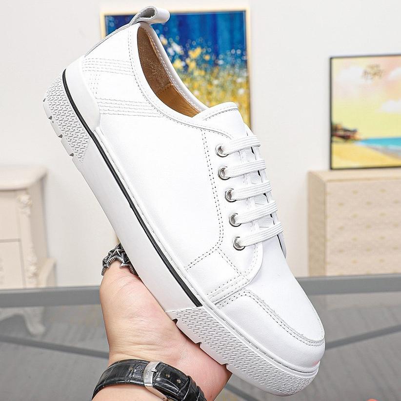 Neue hochwertige carrefour Schuhe, beiläufige Schuhe der Männer mit modischen Freizeitschuhen, Mensschuhe Sportschuhe lowhelp Art und Weise Mens cowskin qwy