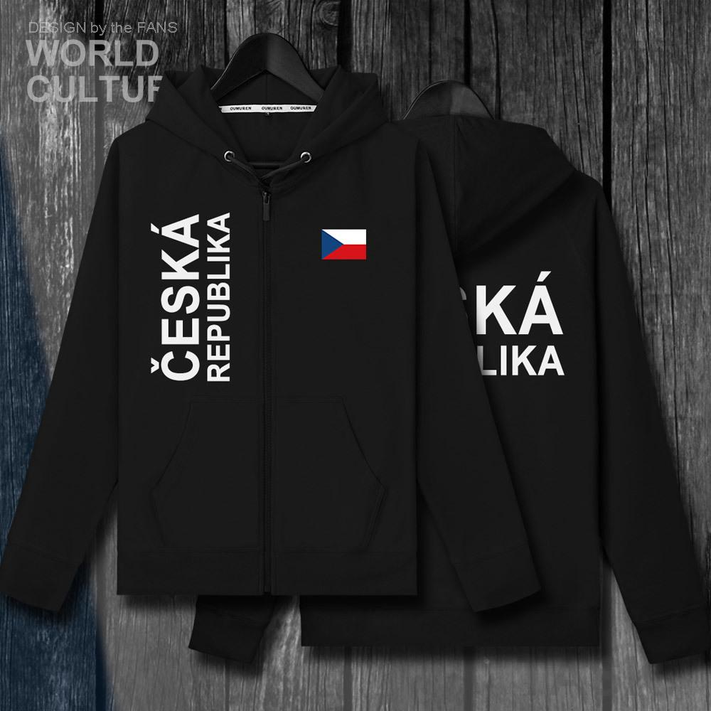 République Tchèque République Tchèque CZE hommes zipper Polaires Chandail d'hiver des hommes vestes et manteaux vêtements sweat-shirt de campagne de la nation T200813