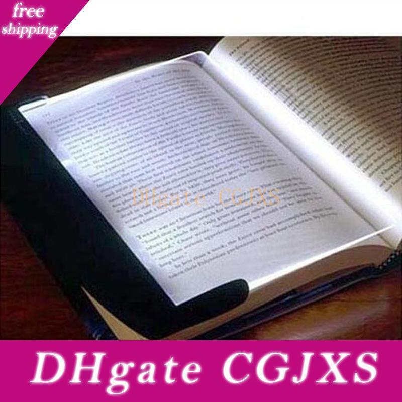Magic Night Vision-Buch-Licht-Led-Lesebuch Teller flach beweglichen Auto-Reise-Panel-Leselicht-Protect Augen für Studenten-Geschenke