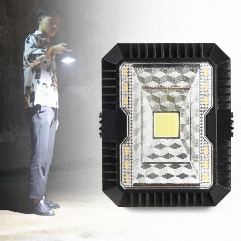 Kamp LED Işık Bahçe Güneş Şarj Spelunking USB Şarj edilebilir Parlaklık Taşınabilir Fener Yürüyüş # 734 HWAz #