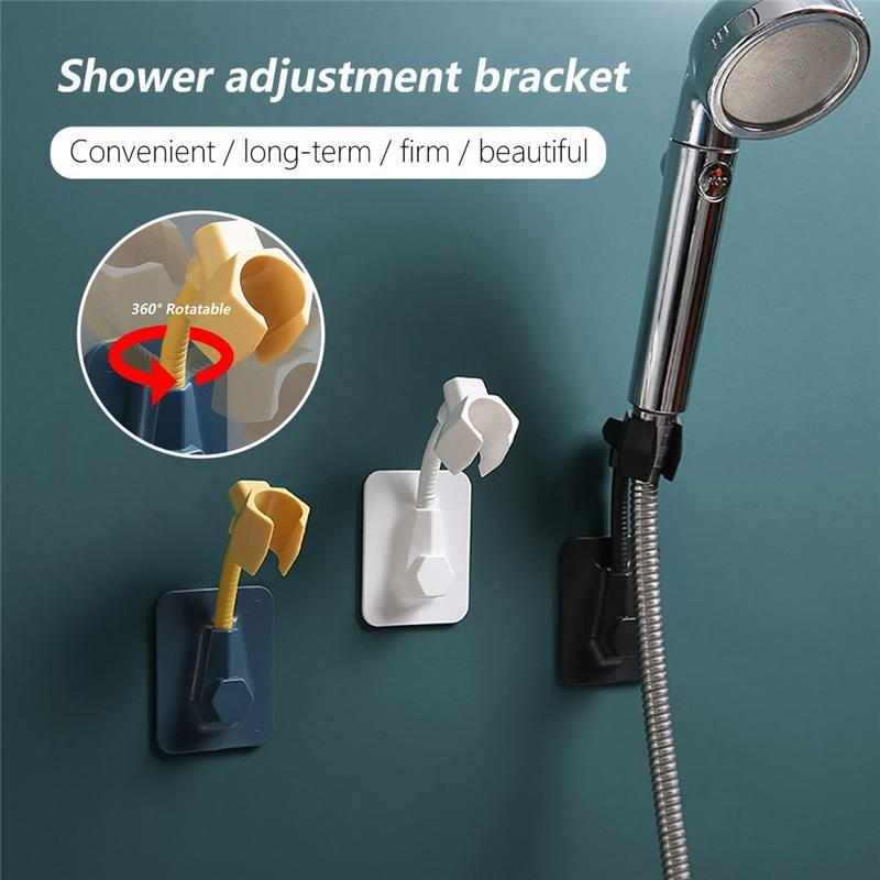 Universale multifunzionale doccia regolabile Staffa colla-tipo doccia ugello Indice degli Punch-libero Rack doccia Base Bagno Strumento