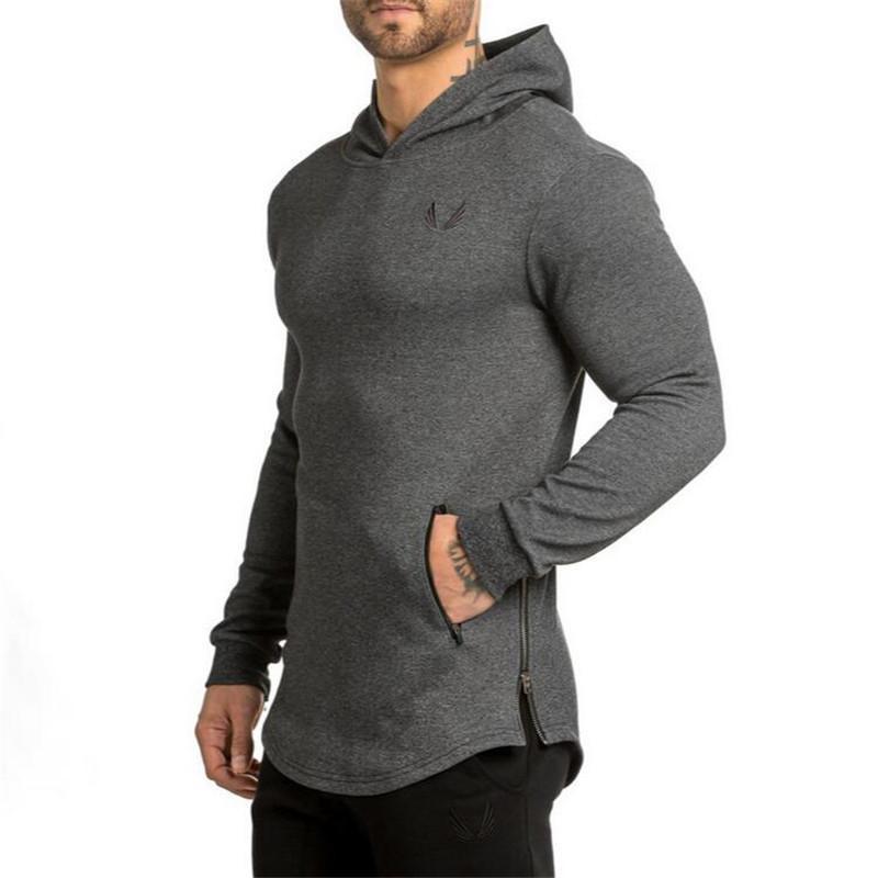 Nouveau Marque Sweat-shirt à capuche Homme Hoodies Mode Hommes solide Hip Hop Pull Hommes d'hommes de Survêtements Vêtements
